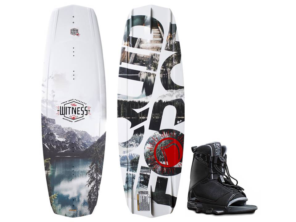 2016 Liquid Force Witness Transit Mens Wakeboard Pkg