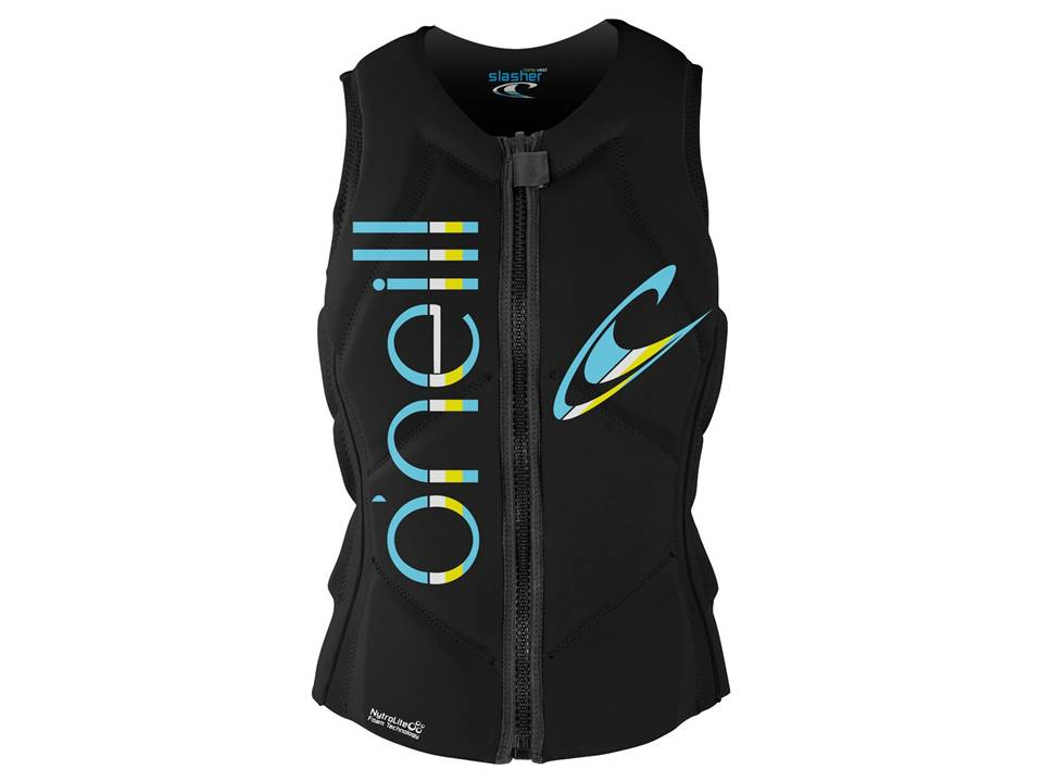 oneill-womens-slasher-blk-comp-vest-front