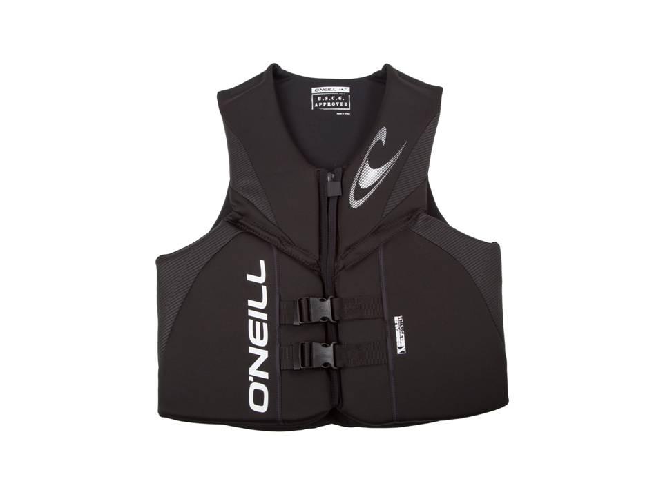 O'Neill Reactor Blk_Blk_Blk CGA Life Vest