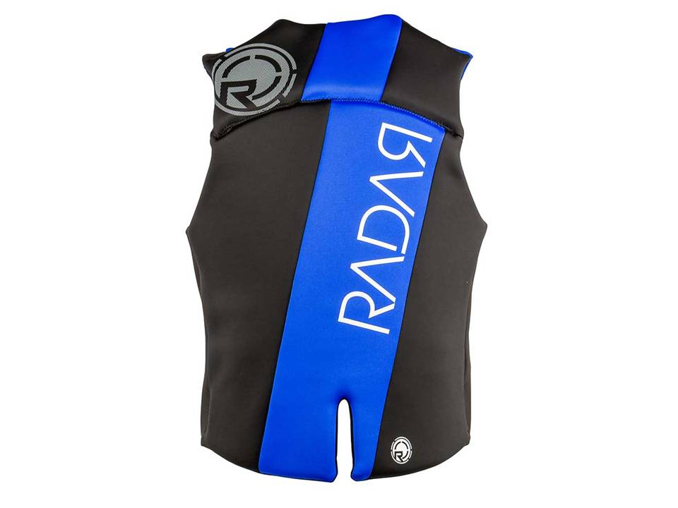 Radar Encore Black_Silver_Blue CGA Life Vest_Back