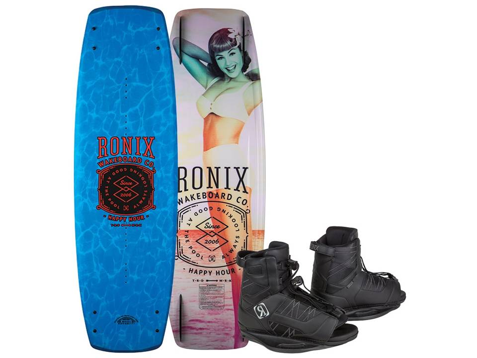 2018 Ronix Happy Hour Modello with Divide Boots