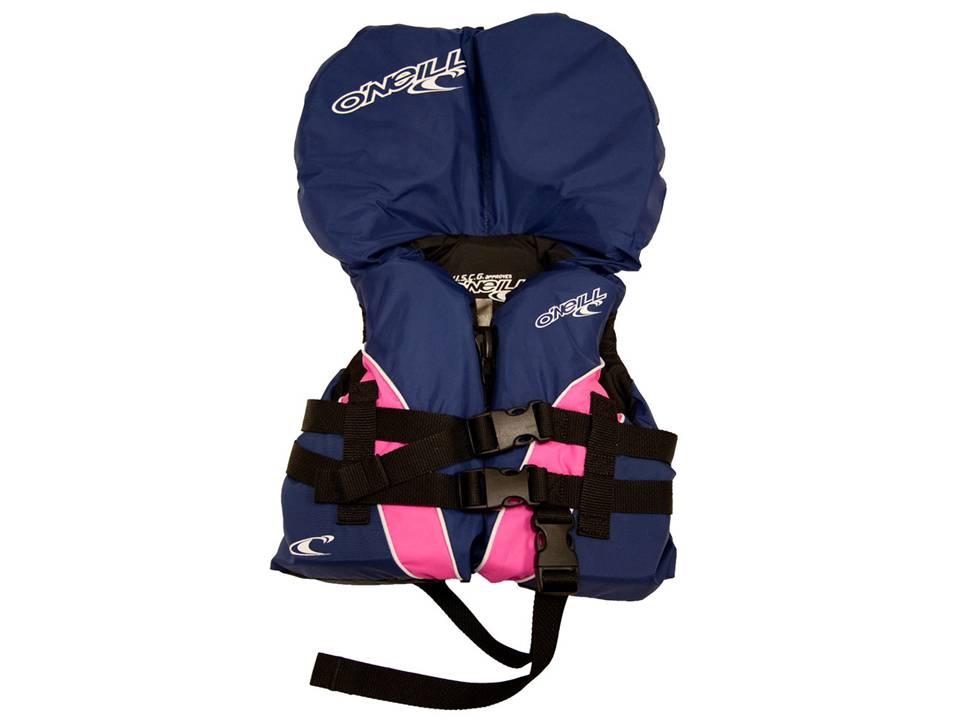 O'Neill Infant Superlite USCG Vest Nvy-Pink-Nvy