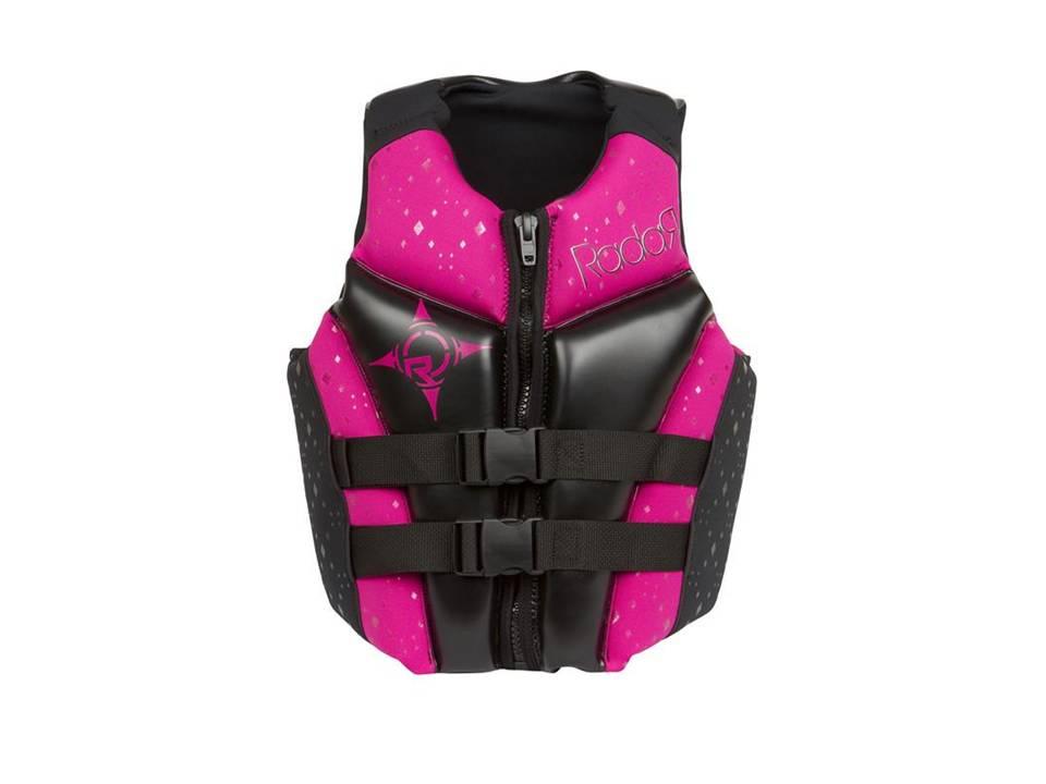 Radar Women's Cameo USCG Black-Pink Front